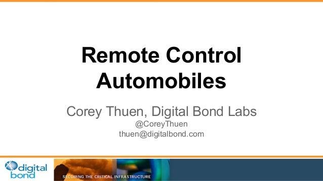 Remote Control Automobiles at ESCAR US 2015