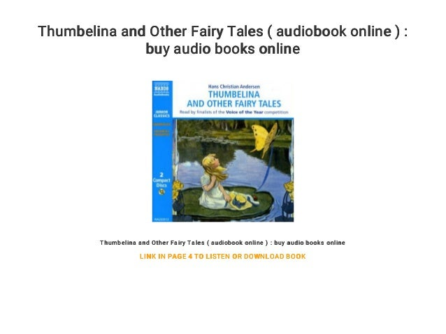 Thumbelina and Other Fairy Tales ( audiobook online ) : buy ...