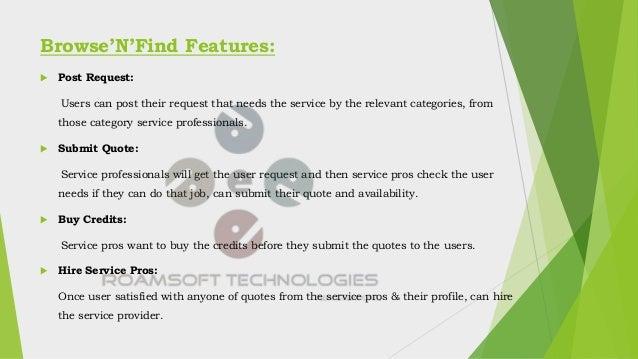 Thumbtack Clone - BrowseNfind Slide 3