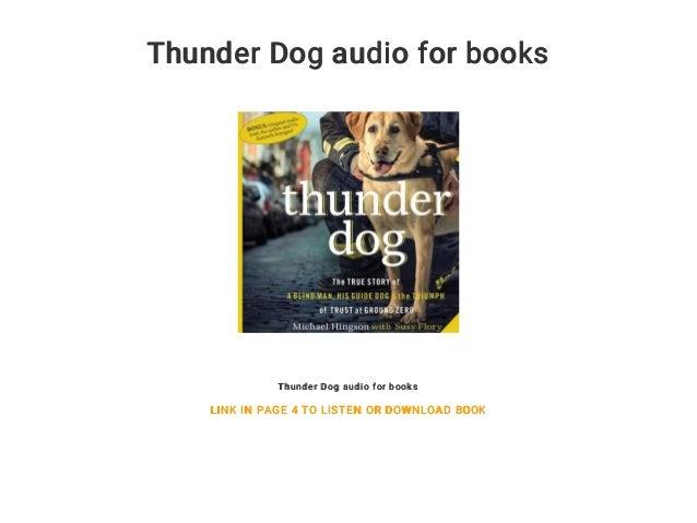 Thunder Dog Book