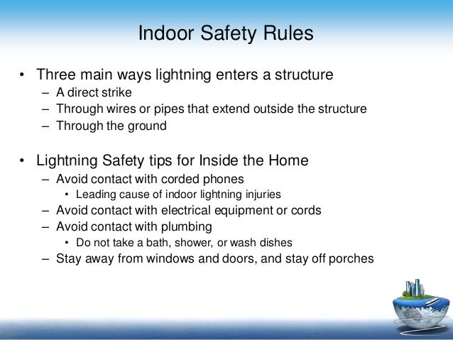 what to do during a lightning In no circumstances during close-in lightning should the operator attempt to step off the equipment to the ground in an attempt to find another shelter very dangerous step.
