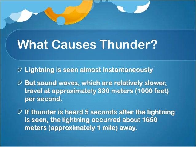22. What Causes Thunder?  sc 1 st  SlideShare & Thunderstorms azcodes.com