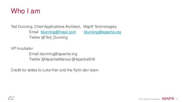Apache Kylin – Cubes on Hadoop Slide 2