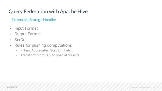 Druid and Hive Together : Use Cases and Best Practices