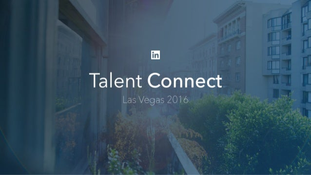 Jennifer Shappley Director, Talent Acquisition, LinkedIn How LinkedIn Used Data to Drive Recruiting Efficiency