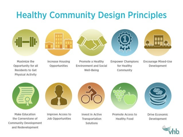 how to create a healthy community