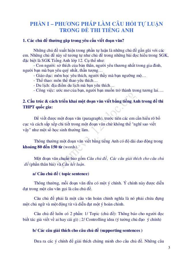 Hướng dẫn làm bài luận và 30 bài luận Tiếng Anh chuẩn và hay luyện th…
