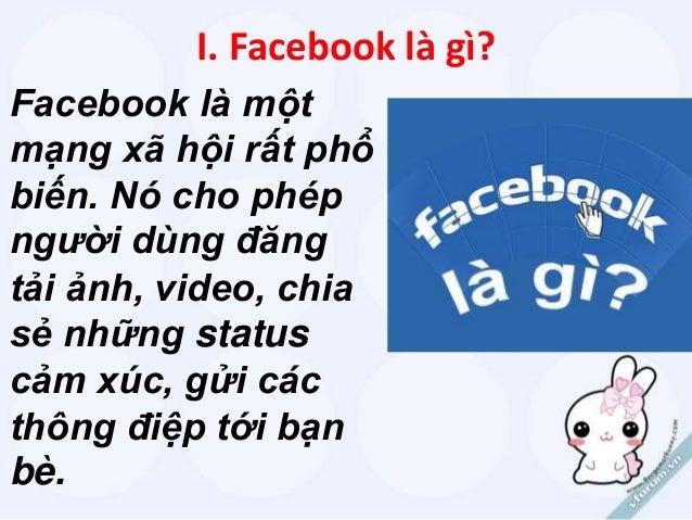 Thuyết trình : Nghiện Facebook_Quên bản thân Slide 3