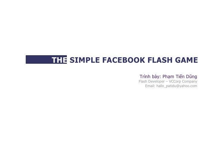 Game Flash trên facebook