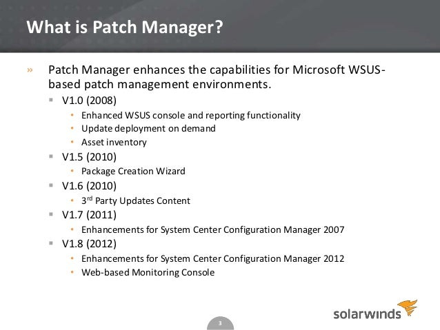 using wsus or sccm to roll out 3rd party patches