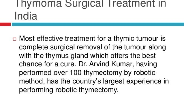 Thymoma and Thymic Carcinoma Best Surgical Treatment in ... | 638 x 359 jpeg 66kB