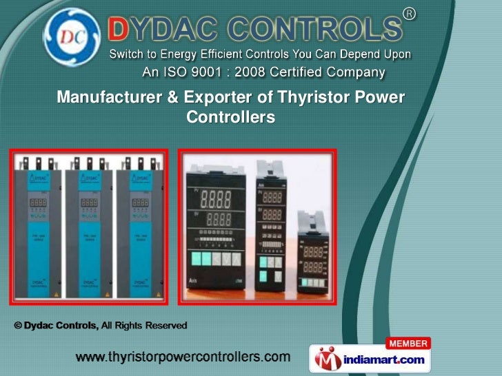 Manufacturer & Exporter of Thyristor Power               Controllers