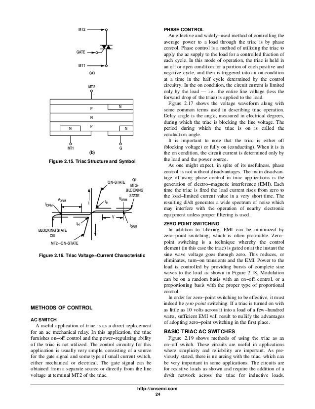 Thyristor Theory And Design Considerations
