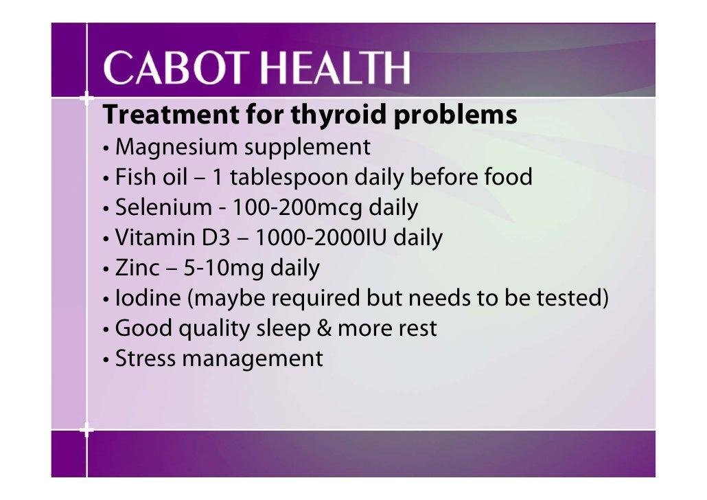 Food Not Good For Thyroid Nodules