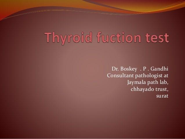 Dr. Boskey . P . Gandhi Consultant pathologist at Jaymala path lab, chhayado trust, surat