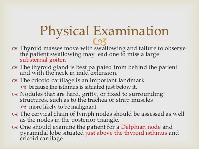 Who performs a thyroid biopsy?
