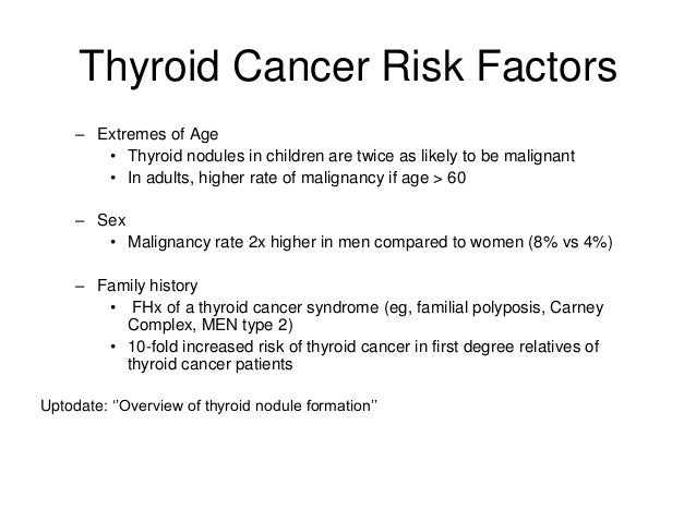 Thyroid Nodules And Cancer