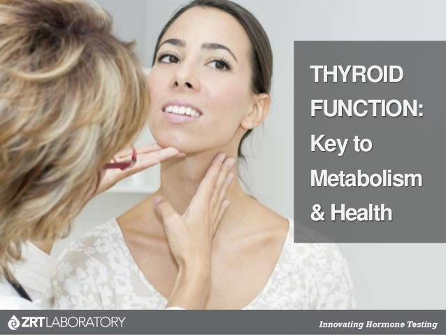 THYROID FUNCTION: Key to Metabolism & Health