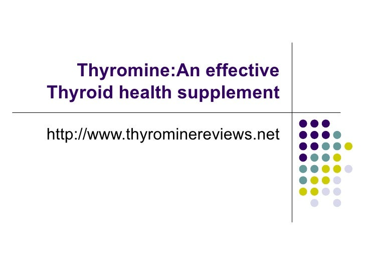 Thyromine Reviews