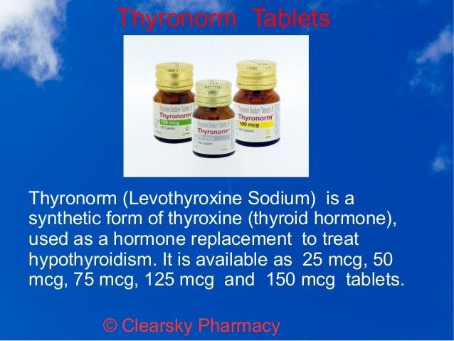Thyronorm Tablets