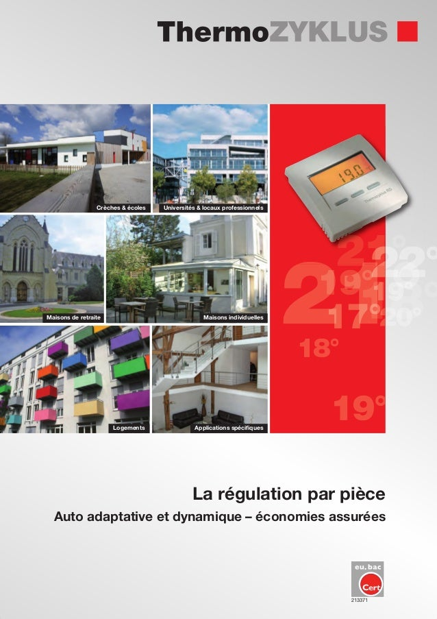 Maisons de retraite Maisons individuelles Crèches & écoles Universités & locaux professionnels Logements Applications spéc...