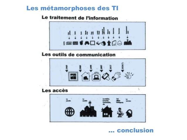 Les métamorphoses des TI … conclusion
