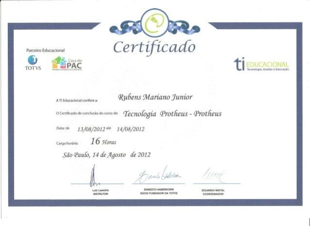 Certificado TI Educacional