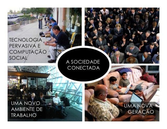 TUDO EM                            TEMPO REALTECNOLOGIAPERVASIVA ECOMPUTAÇÃOSOCIAL              A SOCIEDADE              C...