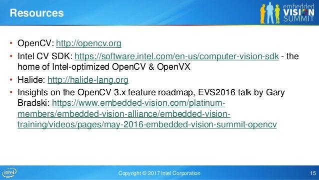 Making OpenCV Code Run Fast,