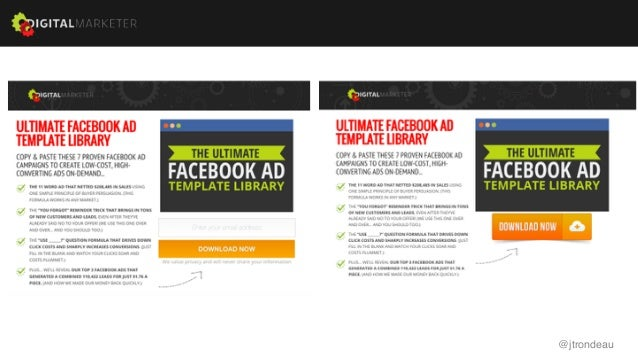 CXL Live Best Practices Or Common Practices Which Is It B - Facebook ad template library