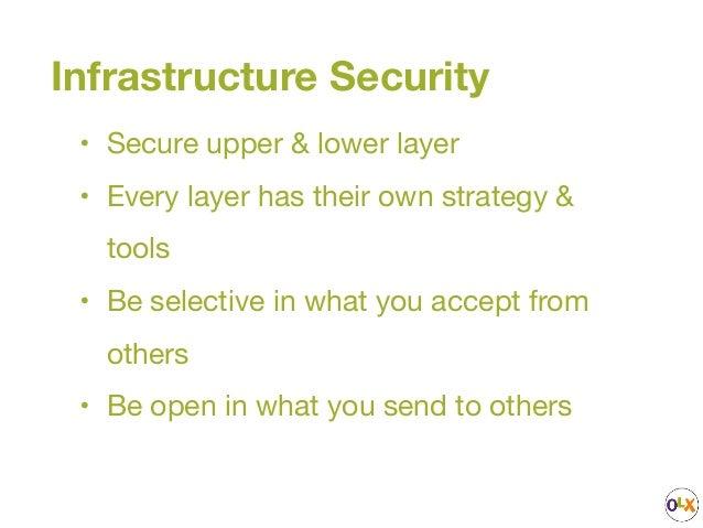 Infrastructure Security Practice