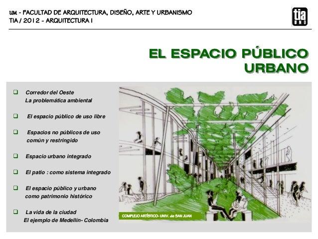 Tia1 2012 espacio p blico urbano for Tipos de mobiliario urbano pdf
