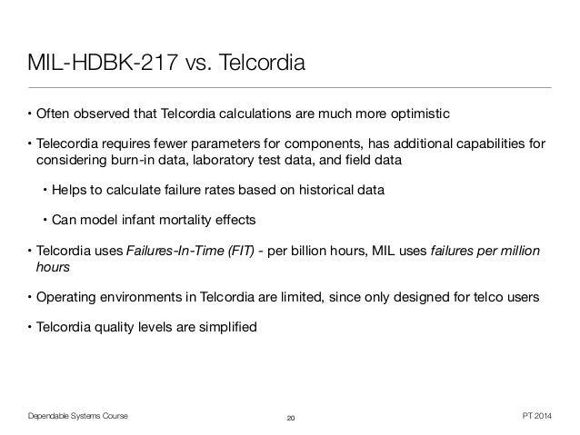 Telcordia Sr 332 Handbook Of Chemistry
