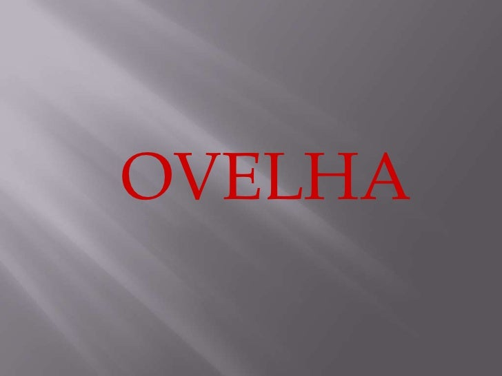 OVELHA <br />