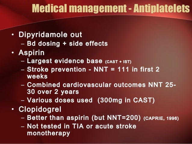 Persantine Dipyridamole Side Effects