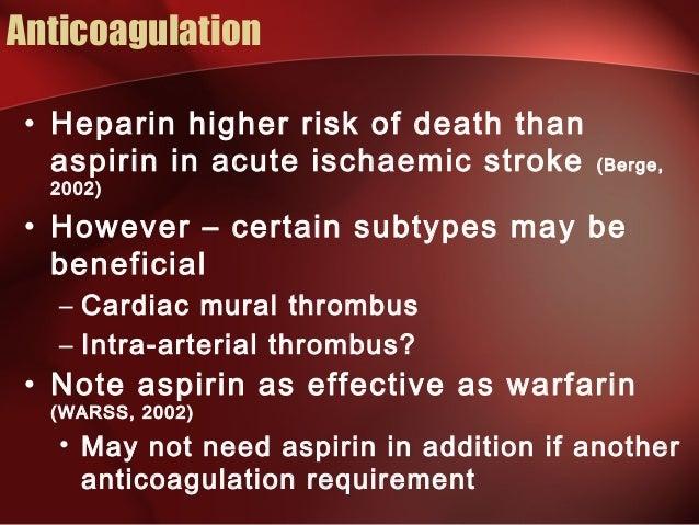Transient ischaemic attack tia investigation and for Cardiac mural thrombus