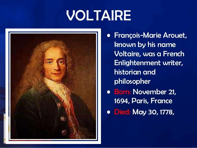 the greatest contribution of francois marie arout in the enlightenment era