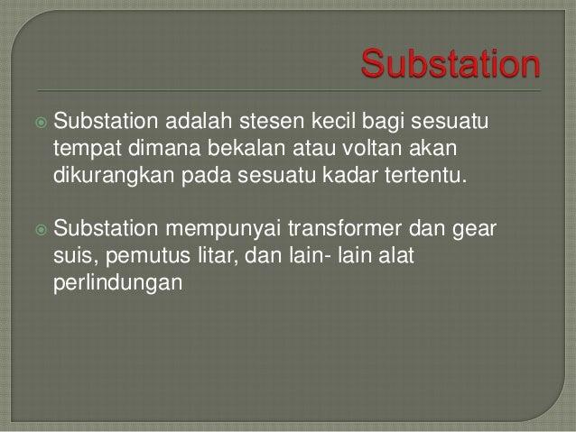 Tiang Tiang Elektrik Dan Substation Malaysia