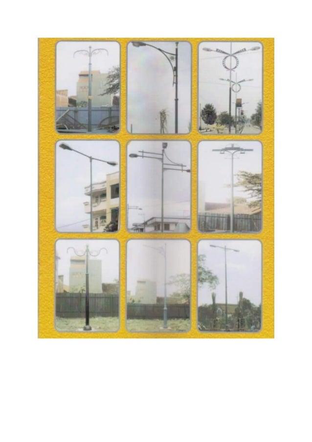 Jual Tiang Lampu Pju Bandung Telp 082231197352