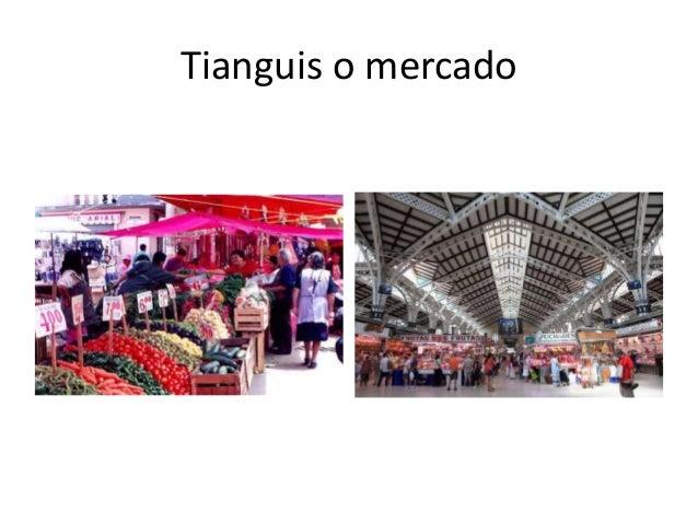 Tianguis o mercado