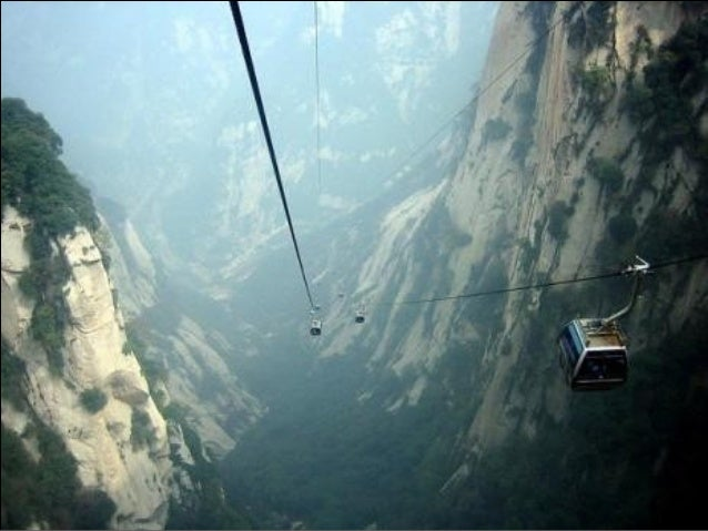 Cable car or bus, you still have to climb the upperstairs if you want to reach  the bottom of the arch.
