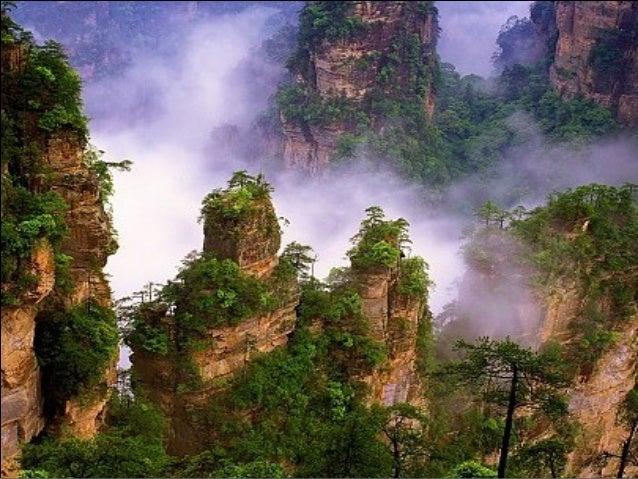 Tianmen mountains