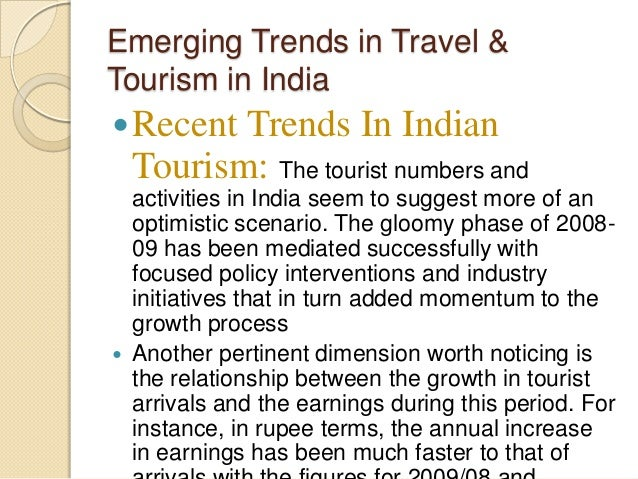 An emerging trend in hospitality and tourism