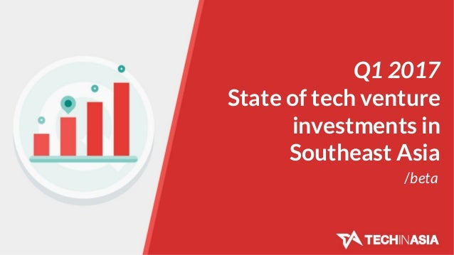 Q1 2017 State of tech venture investments in Southeast Asia /beta