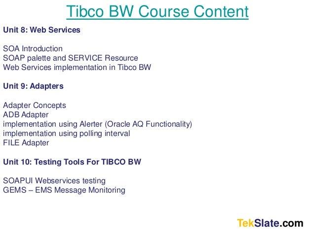 Tibco message queue
