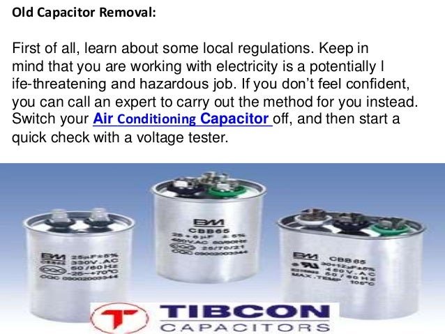 Air Conditioning Capacitor | AC capacitor –Tibcon