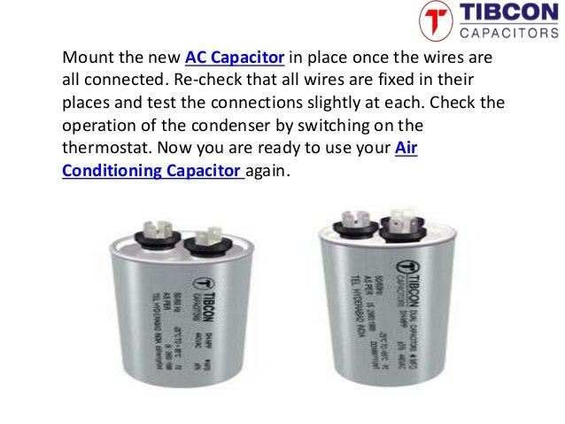 Air Conditioning Capacitor | AC capacitor –Tibcon
