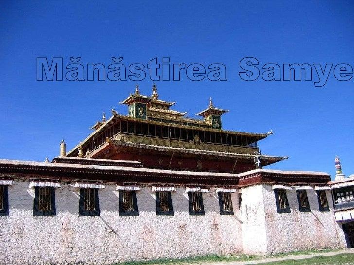 TIBET Mănăstirea Samye