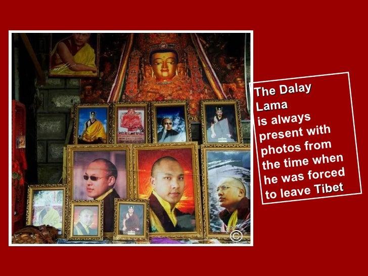 Tibetan pilgrims & prayer wheels Slide 2