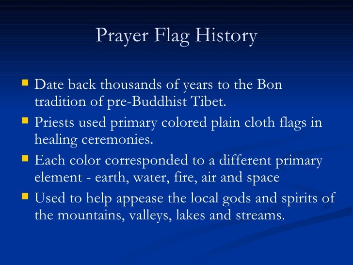 Tibetan Prayer Flags And Wheels